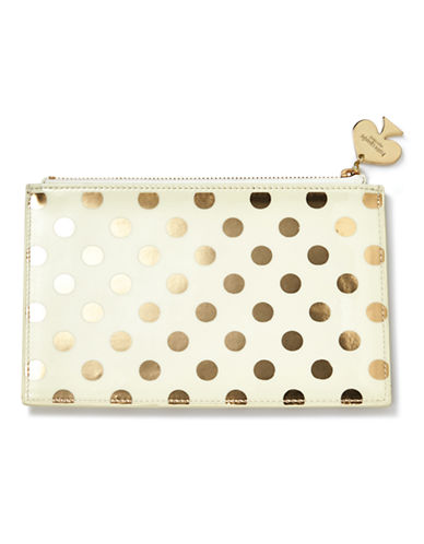 Kate Spade New York Pencil Pouches-GOLD-One Size