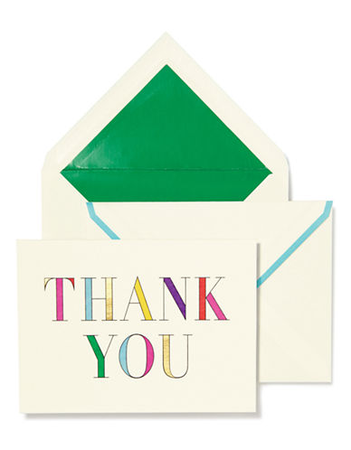 Kate Spade New York Thank You Cards-MULTI-One Size