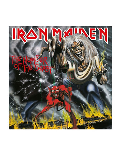 Vinyl Iron Maiden - The Number of the Beast-BLACK-One Size