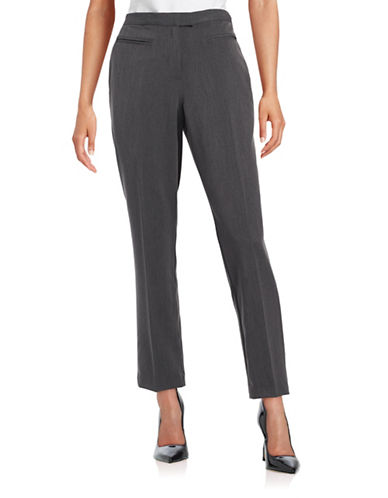 Ruby Rd Easy Stretch Pants-GREY-18
