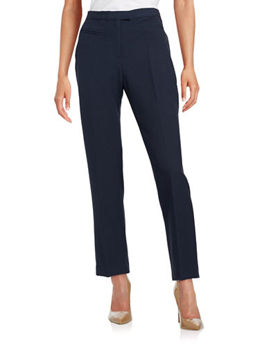 Ruby Rd Easy Stretch Pants-NAVY-16