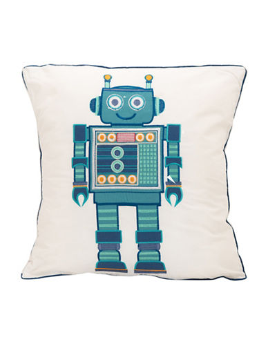 Maholi Android Square Cushion-BLUE-18x18