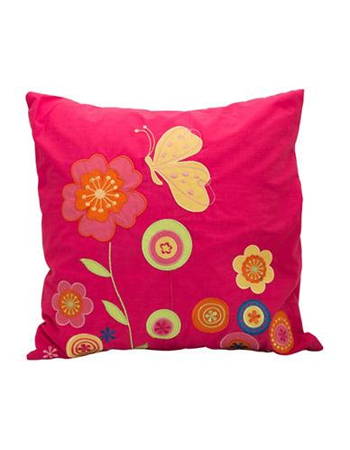 Maholi Summer Square Cushion-RED-18x18