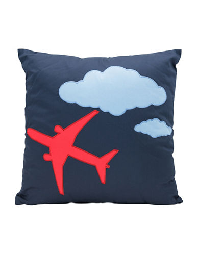 Maholi 787 Airplane Cushion-BLUE-18x18