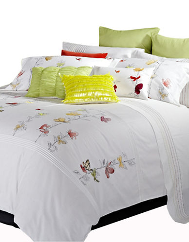 Maholi Three-Piece Spring Meadow Duvet Cover Set-MULTI-King