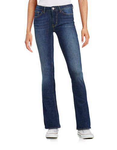 Buffalo David Bitton Faith Bootcut Jeans-BLUE-27