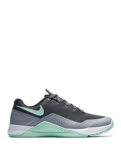 Nike Womens Metcon Mesh Training Sneakers-GREY-6