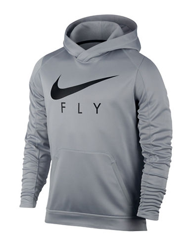 Nike Therma Basketball Hoodie-GREY-Medium 89160297_GREY_Medium