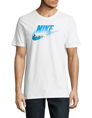 Nike Futura Toronto Photo T-Shirt-WHITE-Medium 89354388_WHITE_Medium