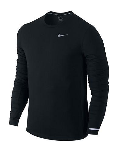 Nike Dri-Fit Contour Long-Sleeve Top-BLACK-Medium 88739723_BLACK_Medium