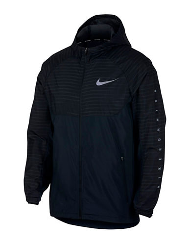 Nike Essential Hooded Running Jacket-BLACK-Large 89848106_BLACK_Large