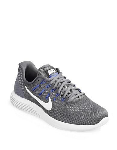 Nike LunarGlide 8 Running Shoes-GREY-9.5 88929688_GREY_9.5