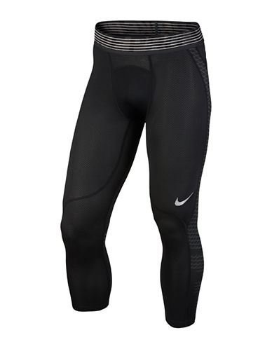 Nike Pro Hypercool Tights-BLACK-Large