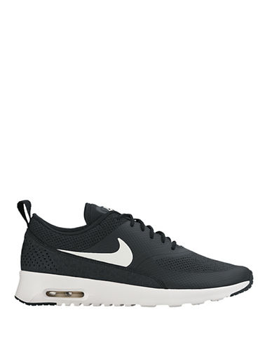 Nike Womens Air Max Athletics Sneakers-BLACK-5.5