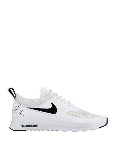 Nike Womens Air Max Athletics Sneakers-WHITE-8