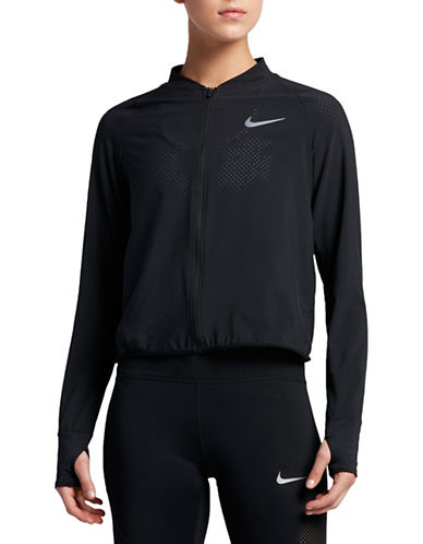 Nike Mesh Running Jacket-BLACK-Large 89203436_BLACK_Large