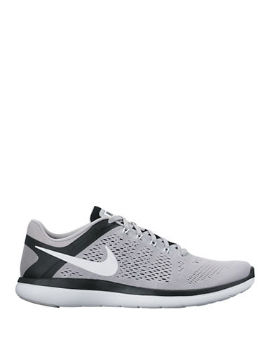 Nike Flex Perforated Flywire Sneakers-LIGHT GREY-9 88929871_LIGHT GREY_9