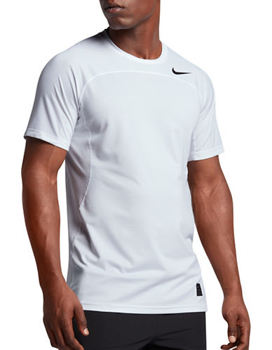 Nike Pro Hypercool Fitted Tee-WHITE-Small 89157225_WHITE_Small