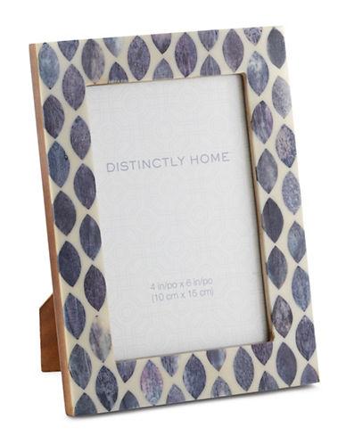 Distinctly Home Ovals 4x6 Photo Frame-GREY-One Size