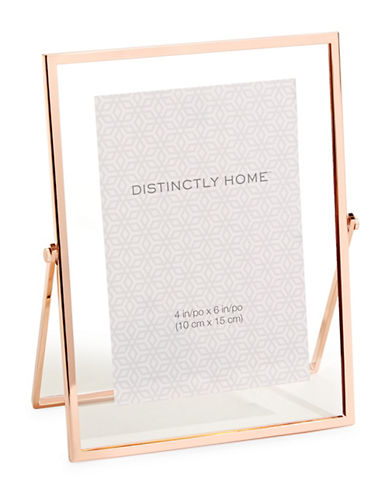 Distinctly Home Floating 4x6 Frame-ROSE GOLD-One Size