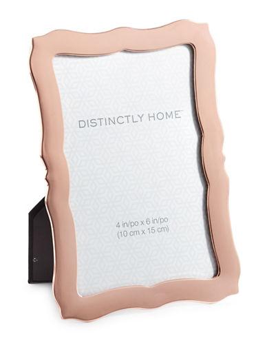 Distinctly Home Scalloped 4x6 Frame-GUNMETAL-One Size