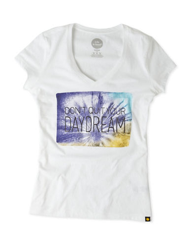 Life Is Good Dont Quit Your Daydream Newbury Tee-WHITE-Small 88796484_WHITE_Small