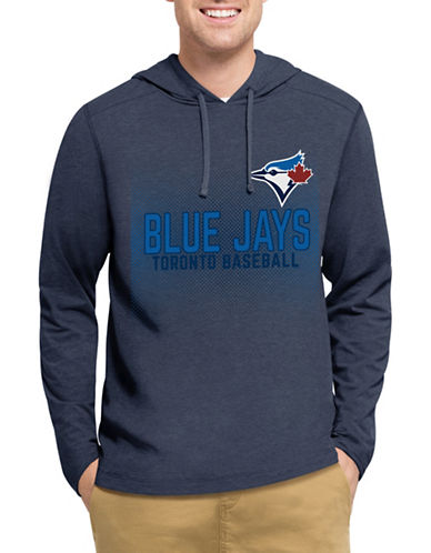 Majestic Toronto Blue Jays Mid Range Hoodie-BLUE-Medium