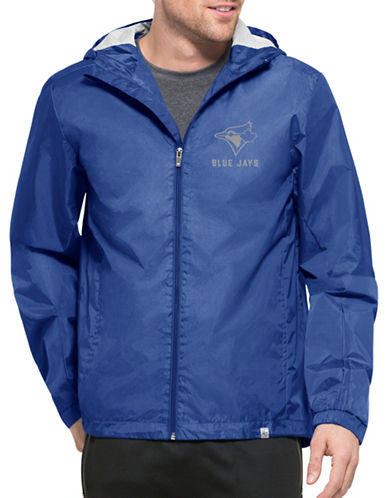 Majestic Toronto Blue Jays React Jacket-BLUE-XX-Large 89365161_BLUE_XX-Large