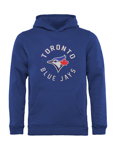 47 Brand Toronto Blue Jays Youth Double 47 Sport Hoodie-BLUE-Medium 89365694_BLUE_Medium