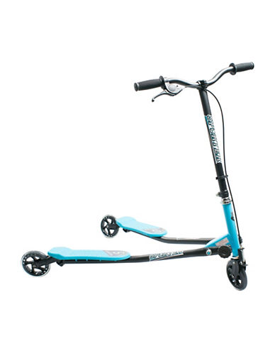 Sporter Three-Wheel Scooter-BLUE-One Size
