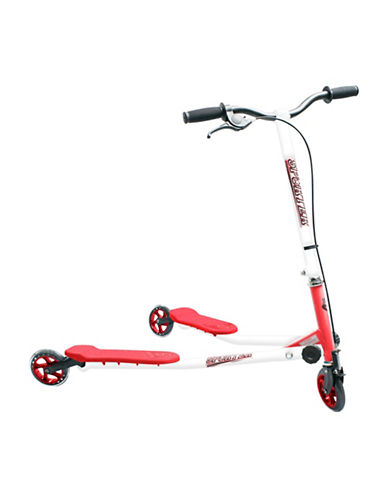 Sporter Three-Wheel Scooter-RED-One Size