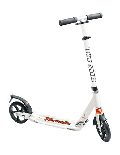 Terrain Two-Wheel Scooter-WHITE-One Size