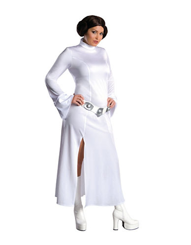 Rubies Costumes Womens Princess Leia Costume-WHITE-Medium