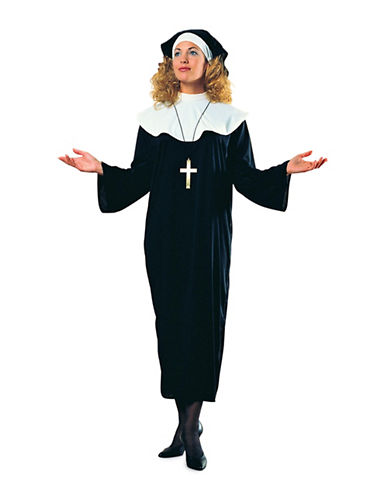 Rubies Costumes Womens Nun Costume-WHITE-Medium