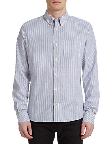 J. Lindeberg Slim-Fit Stretch Sport Shirt-BLUE-Large