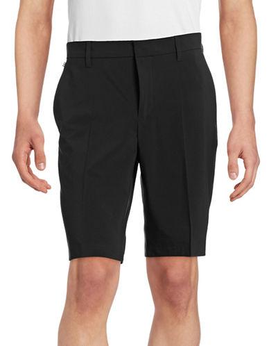 J. Lindeberg Regular-Fit Micro-Stretch Shorts-BLACK-34