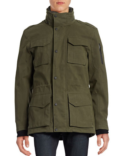 G Lab Defender Wax Jacket-DARK MUD-XX-Large