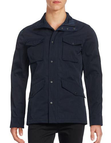 J. Lindeberg Flap Pocket Jacket-BLUE-Large 88922867_BLUE_Large