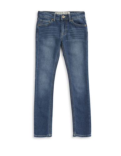 Guess Daredevil Skinny Low Jeans-NAVY-8