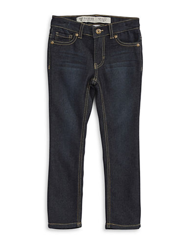 Guess Daredevil Skinny Low Jeans-BLUE-5