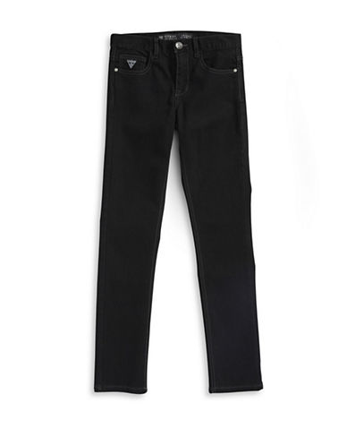 Guess Black Stretch Skinny Jeans-BLACK-12