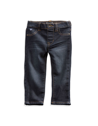 Guess Baby Boy Skinny Comfort Jeans 12-24M-DARK STONE-24 Months