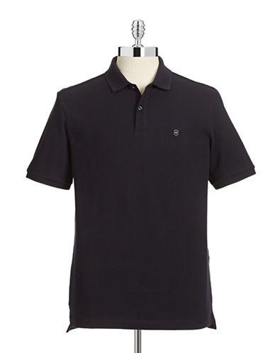 Victorinox Stretch Polo Shirt-NAVY-Small