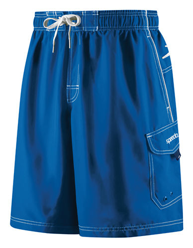 Speedo Speedo Mens Marina Water Short-BLUE-Small