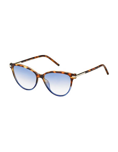 Marc Jacobs Tortoise Blue Aviators-BLUE-One Size