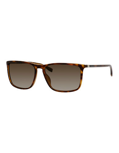 Boss 57mm Classic Wayfarer Plastic Sunglasses-HAVANA-One Size