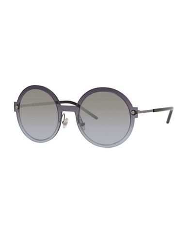 Marc Jacobs Azure 54mm Circle Sunglasses-GREY-One Size