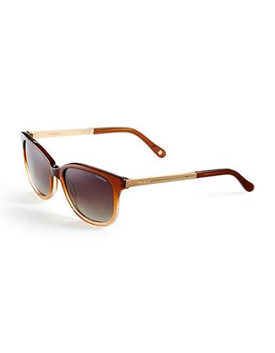 Polaroid Polarized Square Sunglasses-DARK BROWN (POLARIZED)-One Size