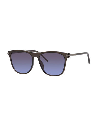 Marc Jacobs Metal Bar 54mm Wayfarers Sunglasses-GREY-One Size