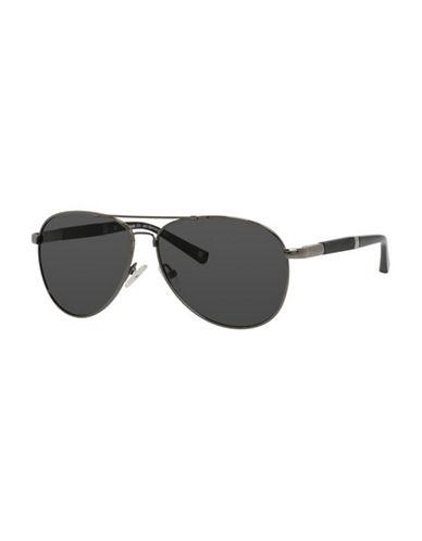 Polaroid Polarized Aviator Sunglasses-GREY-One Size